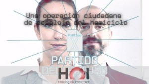 """SURGE UNA FORMACIÓN POLÍTICA PARA """"REINICIAR EL SISTEMA"""""""